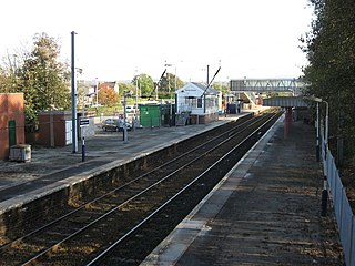 Hazel Grove railway station Train station in the United Kingdom