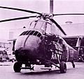 Heavily armed U.S. Army copter CH-34 at Ft. Benning, GA.jpg