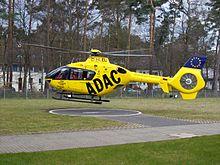 جميع المنح والتعاقدات العسكريه الخاصه بالبيشمركه ........متجدد - صفحة 5 220px-Helicopter_EC135_taking_off_from_Bonn_university_clinic_helipad
