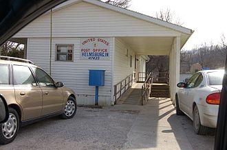 Helmsburg, Indiana - Helmsburg, Indiana Post Office