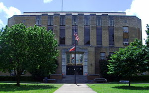 Hempstead County, Arkansas - Image: Hempstead County Courthouse 001