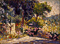 Henri Edmond Cross - The Flowered Terrace - Google Art Project.jpg