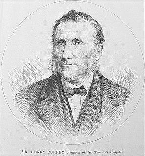 Henry Currey (architect) British architect