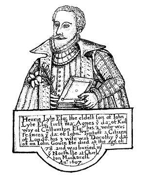 Henry Lyte (botanist) - Portrait of Henry Lyte.