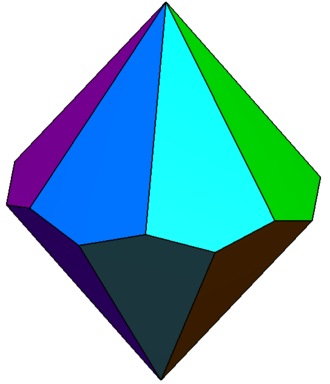 Heptagonal trapezohedron - Heptagonal trapezohedron