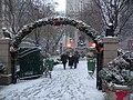 Herald Sq entry arch snow jeh.jpg