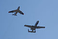 Heritage Flight A-10C F-86F last pass 09 TICO 13March2010 (14599454775).jpg
