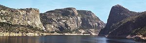 Hetch Hetchy Valley in Yosemite National Park