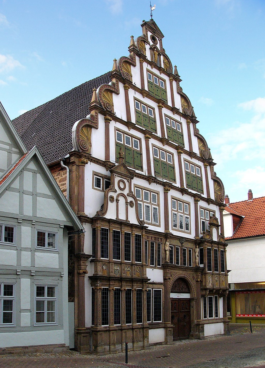 Lemgo Germany  city pictures gallery : Hexenbürgermeisterhaus in Lemgo, Germany