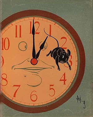 Hickory Dickory Dock - Hickety Dickety Dock, illustrated by Denslow