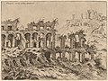 Hieronymus Cock, View of the Colosseum with the Palatine in the Background, probably 1550, NGA 91339.jpg