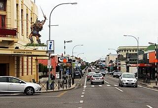 Dannevirke Place in Manawatū-Whanganui, New Zealand