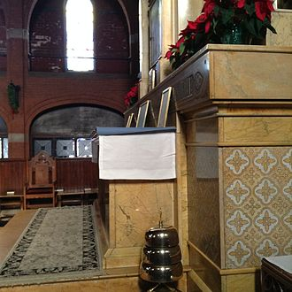 St. Mary's Episcopal Church (Kansas City, Missouri) - The high altar in the church's nave