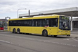 Hillsbus (mo 9834) Volgren 'CR228L' bodied Scania K280UB 14-5m at Castle Hill Interchange.jpg
