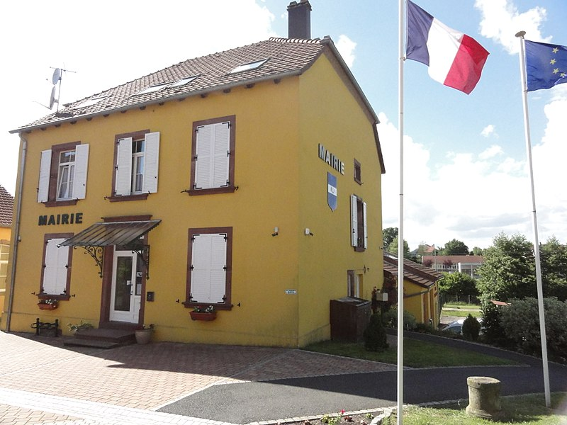 Hommarting (Moselle) mairie