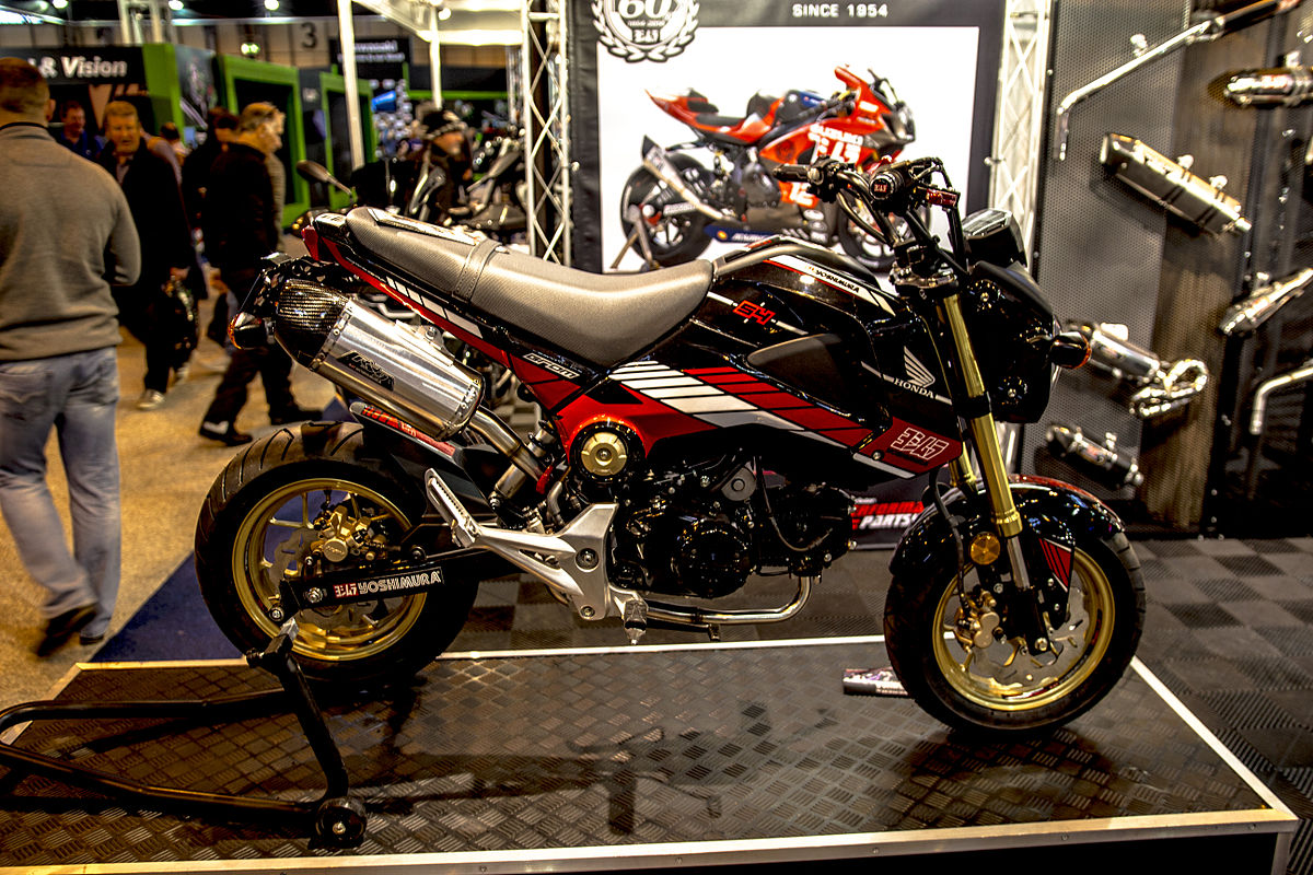 Honda grom wikipedia for 2018 honda grom top speed
