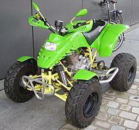 A Honda quad.