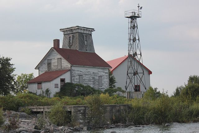 Hope Island Lighthouse, Sep. 2015