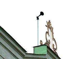 Emergency population warning - Horn for public warning system in Sweden