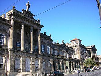 John Carr (architect) - Santo António Hospital, Oporto