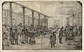 Hospital ward in Liverpool Workhouse; requisitioned for woun Wellcome V0014741.jpg