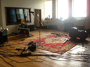 Hotel2Tango - The tracking room of the new Hotel2Tango.