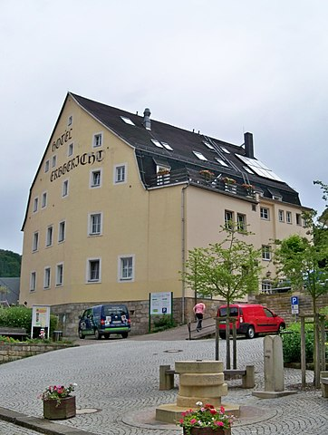 Hotel Erbgericht In Bad Schandau