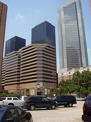 Houston Center - The Houston Center complex