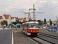 Hradčanská - Prašný most, Tatra T3SUCS.jpg