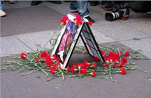 Marche silencieuse Hrant Dink
