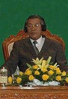 Hun Sen, Prime Minister of Cambodia