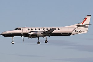 International Business Air - International Business Air Fairchild Swearingen SA-227AC Metro III.