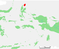 Location within Maluku Islands