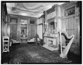 INTERIOR VIEW OF MUSIC ROOM - Colonel Walter Gresham House, 1402 Broadway, Galveston, Galveston County, TX HABS TEX,84-GALV,26-8.tif