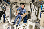 ISS-43 Terry Virts wears a 'Penguin' suit.jpg