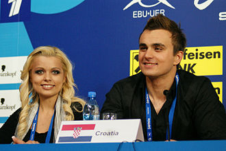Croatia in the Eurovision Song Contest - Image: Igor Cukrov & Andrea Šušnjara (3830890311)