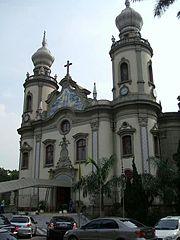 A Igreja Nossa Senhora do Brasil.