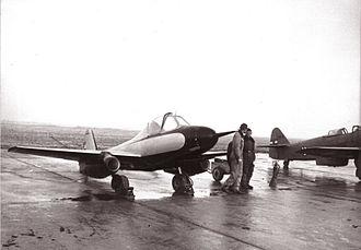 Ikarus 451 - Ikarus S-451M – Testing in Aeronautical Testing Center in 1950s.