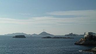7th arrondissement of Marseille - Image: Iles du Frioul Endoume