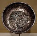 Impero ottomano, bacinella di corte, argento, turchia 1550-1600 ca.jpg