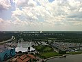 In the distance, EPCOT - panoramio.jpg