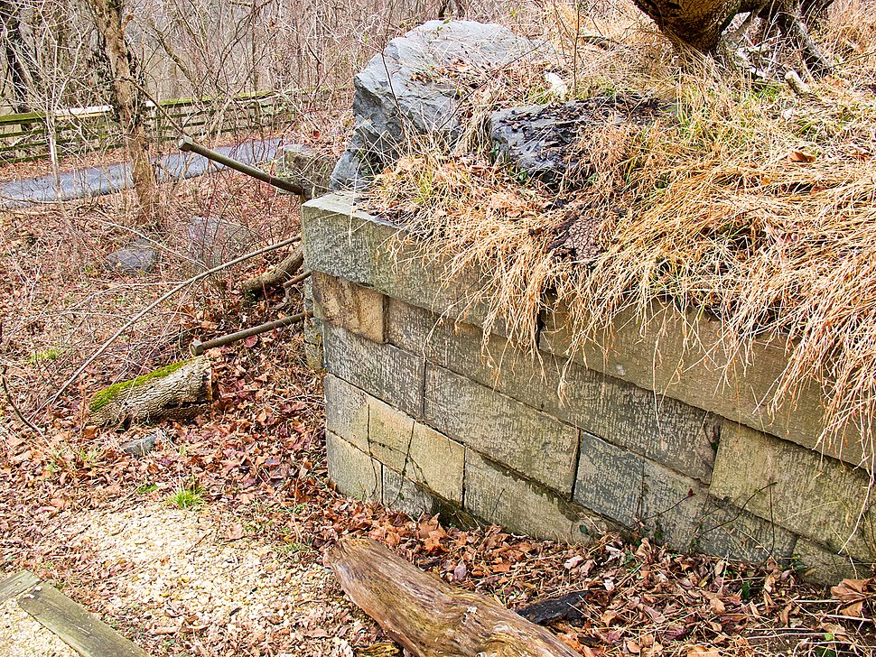 Inclined Plane Remains on C and O Canal