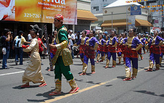 "Kadayawan Festival - ""Indak-indak sa kadalanan"" or the Street dancing competition, part of Kadayawan Festival celebration."