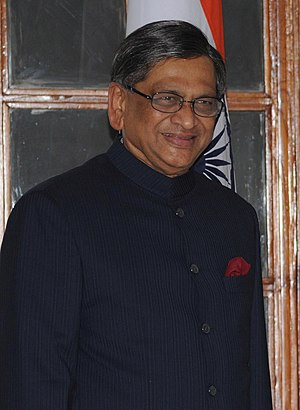 Indian Minister of External Affairs S.M. Krish...