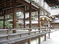 Inside Imamiya Shrine complex.JPG