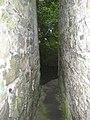 Inside Peg Washington's Lane, Graiguenamanagh, Co. Kilkenny - geograph.org.uk - 213439.jpg