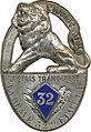 Insigne régimentaire du 32e Régiment d'Infanterie.jpg