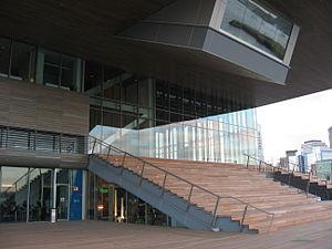 Institute of Contemporary Art, Boston - Image: Institute of Contemporary Art Boston Entrance