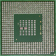 Procesor Intel Celeron D taktovaný na 2,53GHz.