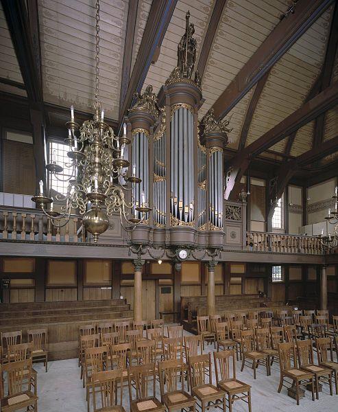 File:Interieur, aanzicht orgel, orgelnummer 1728 - Zaandam - 20429235 - RCE.jpg